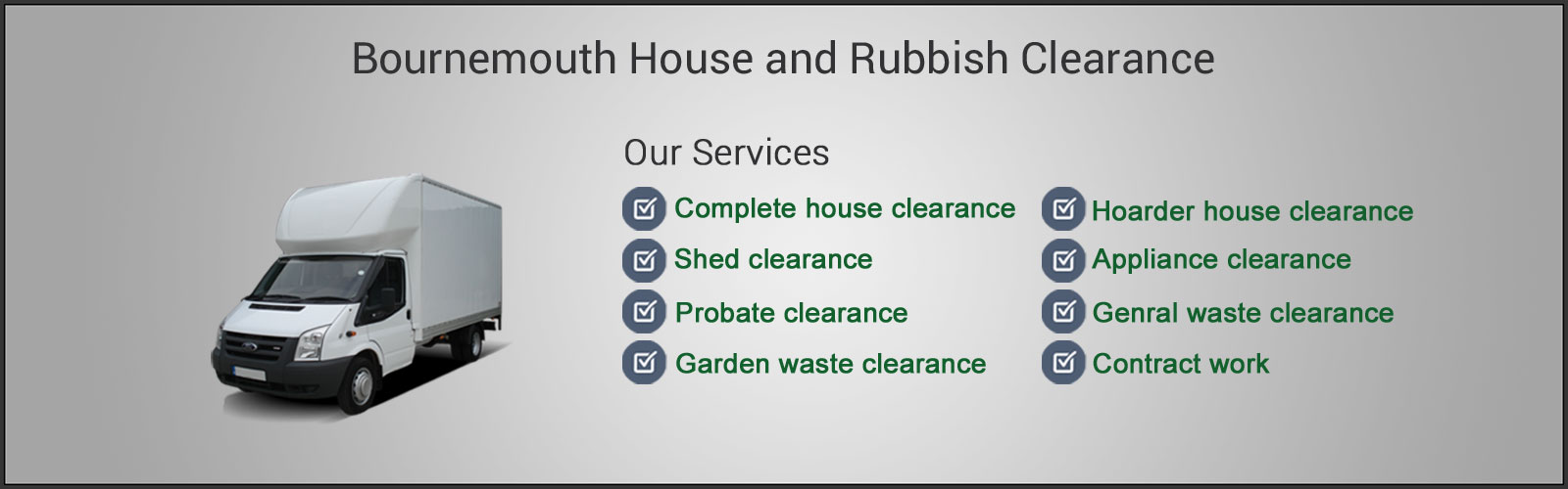 House Clearance Bournemouth services